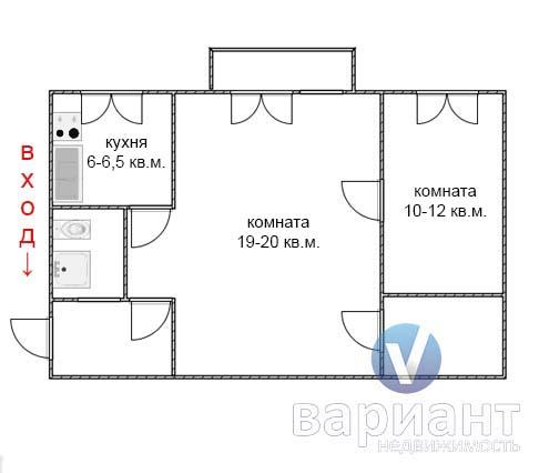 Типовые планировки квартир ан вариант.